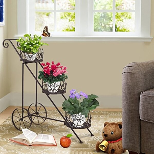Eccleshall Multi-Tiered Etagere Plant Stand by Fleur De Lis Living