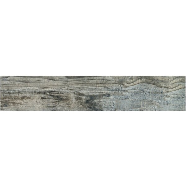 Ryan 9 x 46 Porcelain Wood Look Tile in Blue by Splashback Tile