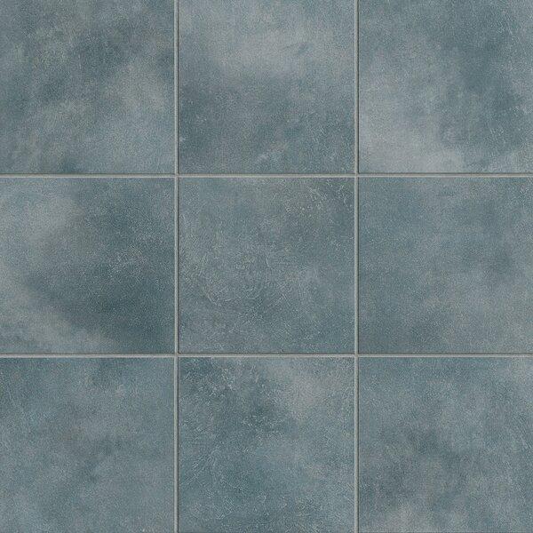 Poetic License 6 x 6 Porcelain Field Tile in Denim by PIXL
