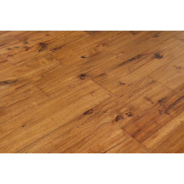 Alpine Trail 7 Inch Engineered Hickory Wide Plank Flooring in Ember Brown by Eddie Bauer Floors
