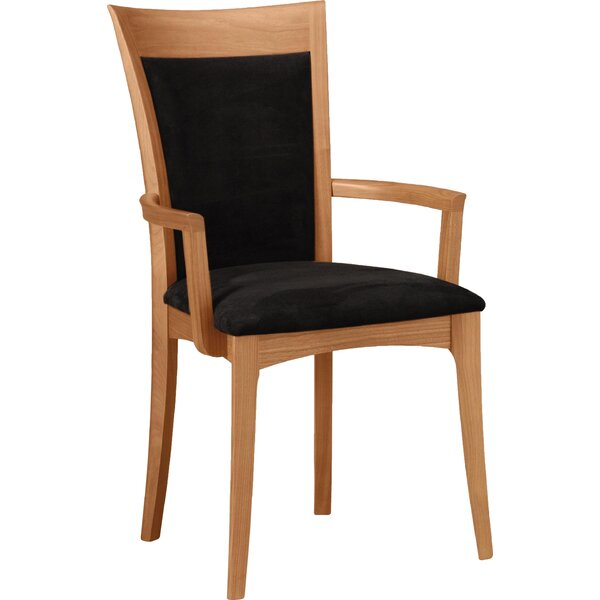 Morgan Leather Upholstered Arm Chair By Copeland Furniture