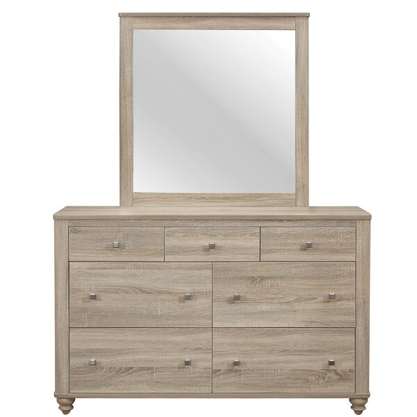Jude 7 Drawer Dresser with Mirror by Gracie Oaks