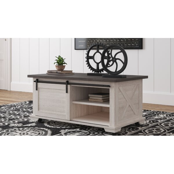 Affordable Price Booker Coffee Table with Storage by Gracie Oaks