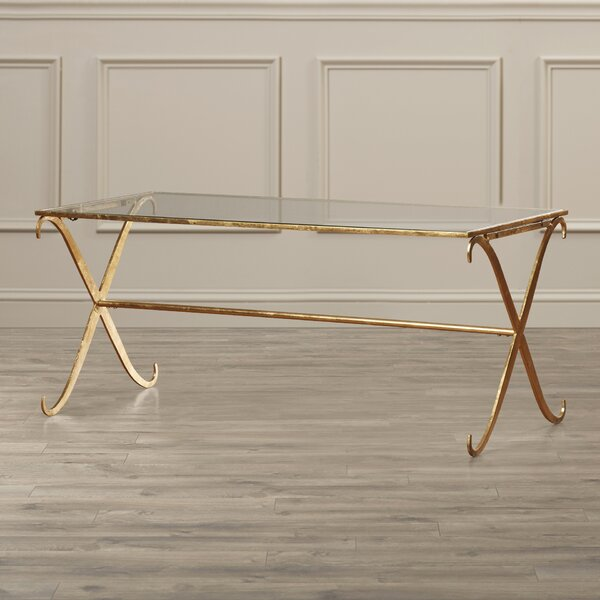 Rex Cross Legs Coffee Table By Willa Arlo Interiors