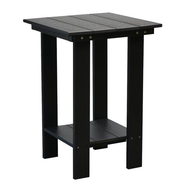 Joao Balcony Plastic Side Table by Red Barrel Studio