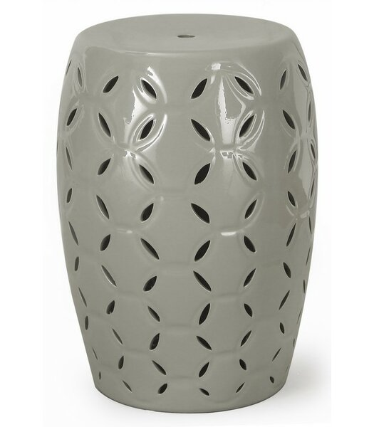 Round Ceramic Garden Stool by Homebeez