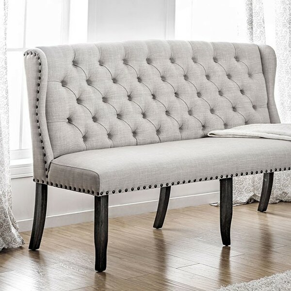 Artis Loveseat Upholstered Bench by Canora Grey
