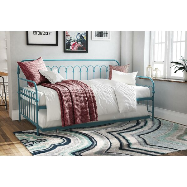 watch f5b58 09505 Bright Pop Metal Twin Daybed with Trundle