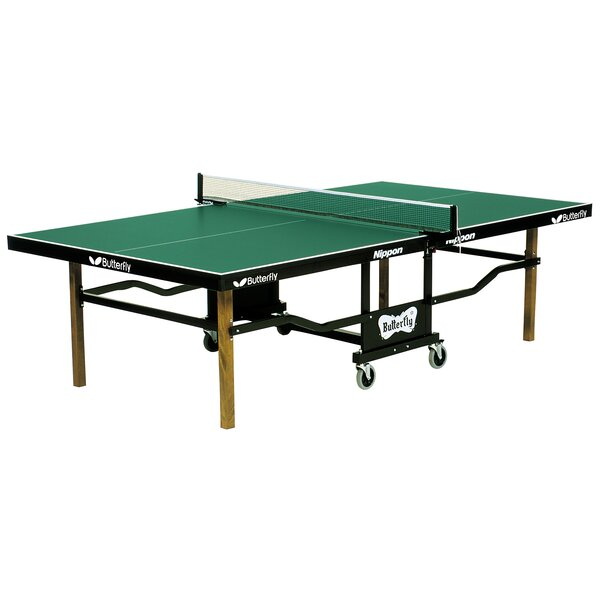 Nippon Play Back Folding Indoor Table Tennis Table by Butterfly