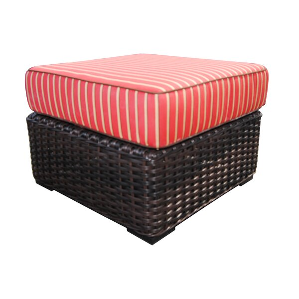 Woodham Ottoman with Cushion by Red Barrel Studio