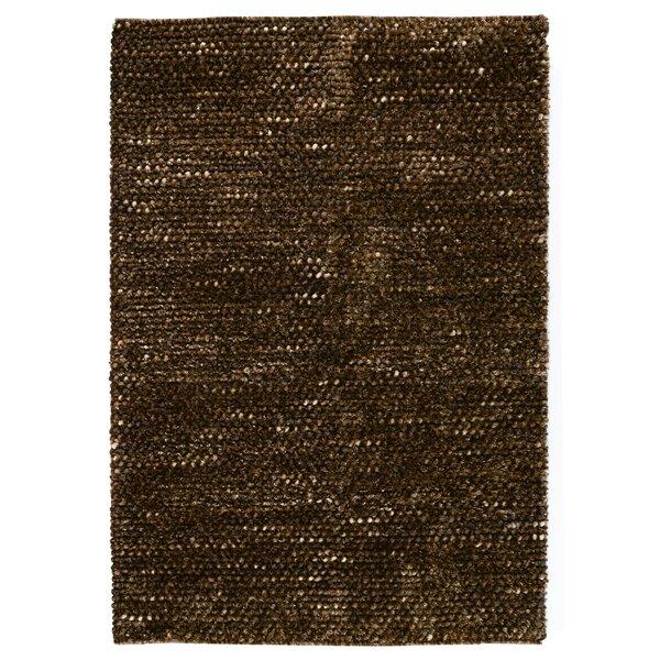 Revathi Hand-Woven Brown Area Rug by Orren Ellis
