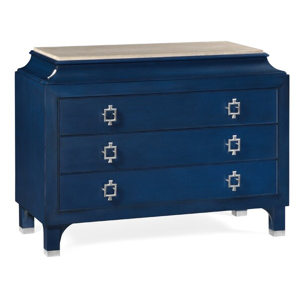 3 Drawers Standard Dresser by Jonathan Charles Fine Furniture