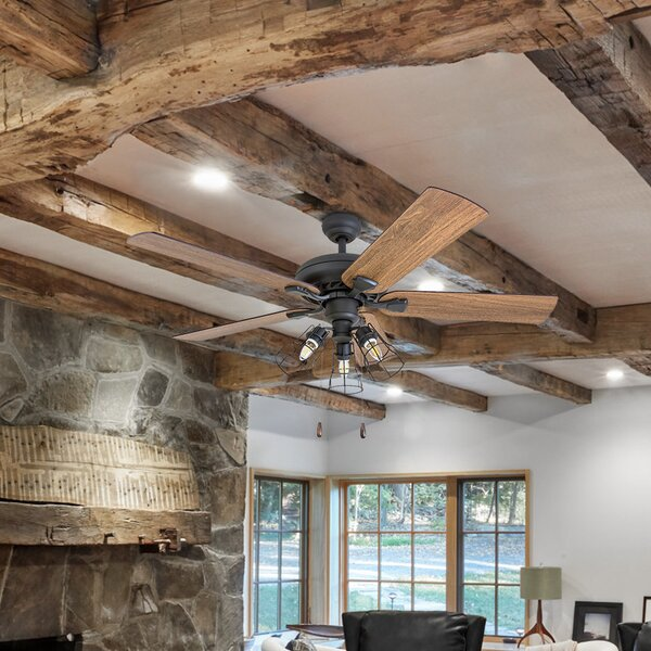 52 Ravenscourt 5 Blade LED Ceiling Fan by Gracie Oaks