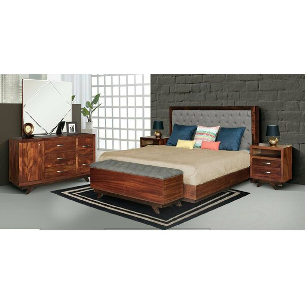 Aurora 5 Piece Bedroom Set by REZ Furniture