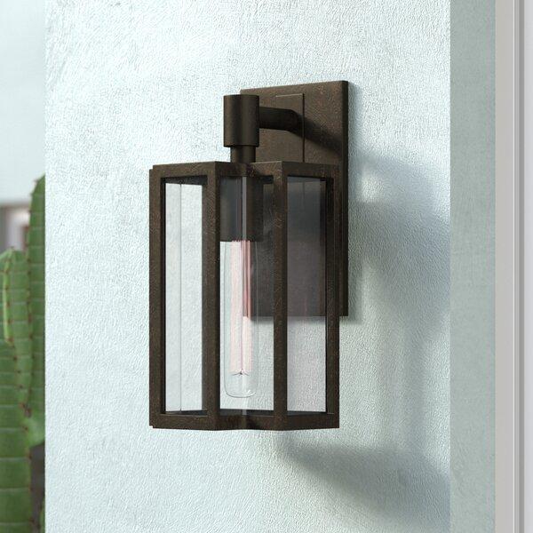 Dwana 1-Light Outdoor Wall lantern by 17 Stories