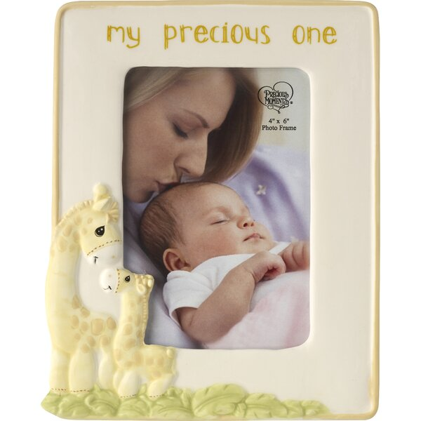 My Precious One Ceramic Giragge Picture Frame by Precious Moments