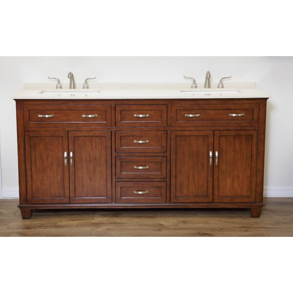 Scarlett 60 Double Bathroom Vanity Set by Charlton Home