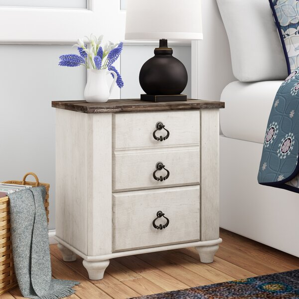Theus 2 Drawer Nightstand By Charlton Home by Charlton Home Today Only Sale
