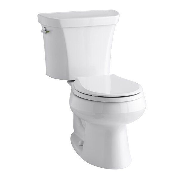 Wellworth 1.6 GPF Round Two-Piece Toilet by Kohler