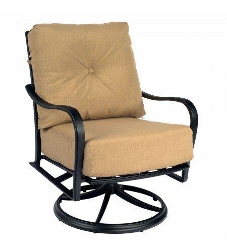 Woodard Apollo Swivel Rocker Patio Chair With Cushions | Wayfair