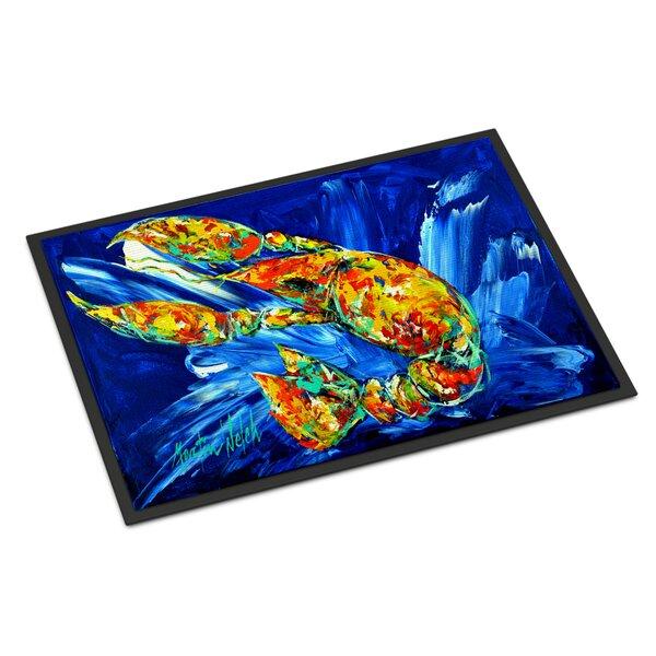 Not Your Plano Crawfish Outdoor Door Mat