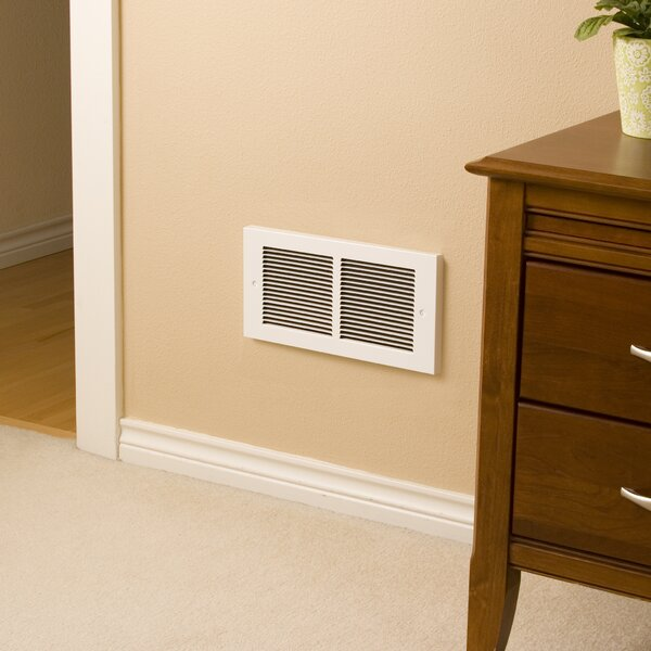 Register Series Electric Fan Wall Insert Heater by