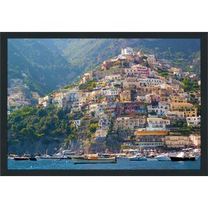 Positano, Amalfi Coast Framed Photographic Print by Picture Perfect International