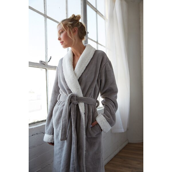 Patrie Sherpa Fleece Bathrobe by The Twillery Co.