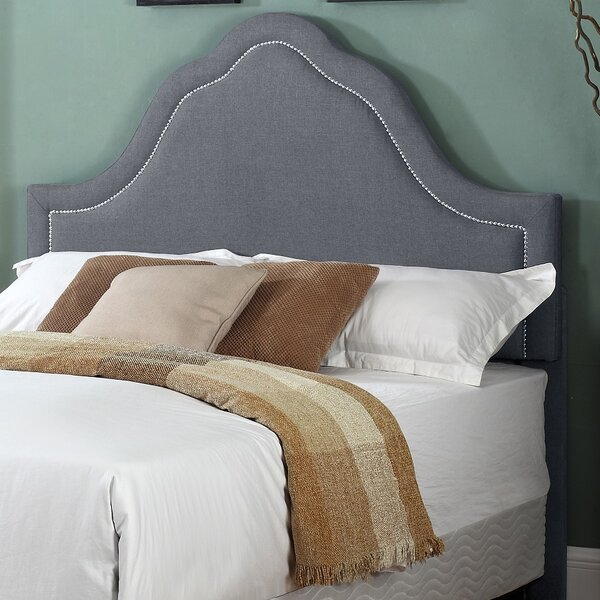 Mokane Upholstered Panel Headboard by House of Hampton House of Hampton