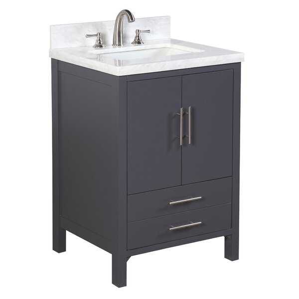 California 24 Single Bathroom Vanity Set by Kitchen Bath CollectionCalifornia 24 Single Bathroom Vanity Set by Kitchen Bath Collection