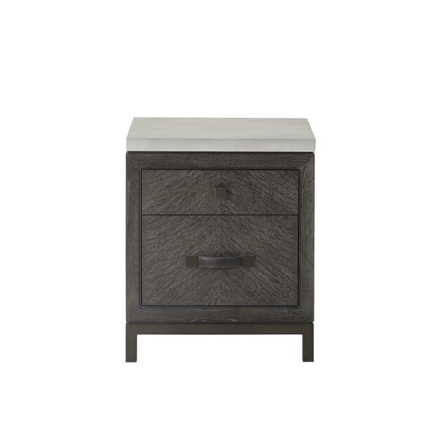 Emerson 2 Drawer Nightstand by Sonder Living