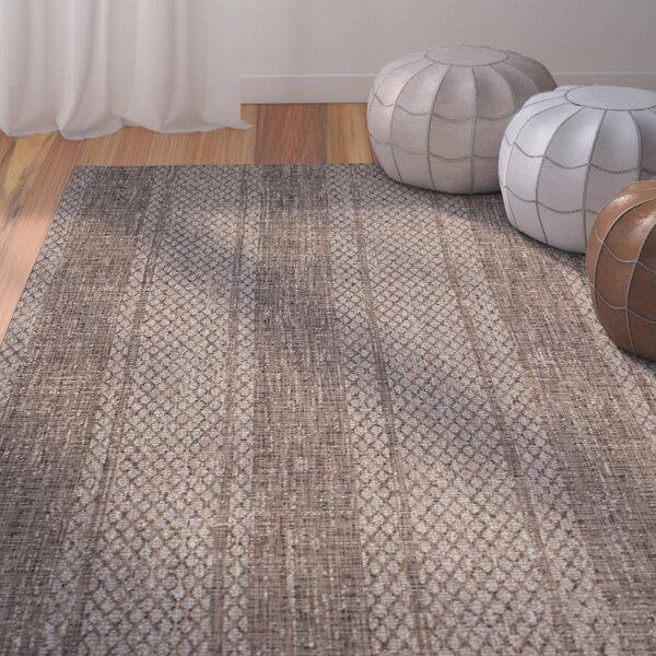 Myers Beige/Light Indoor/Outdoor Brown Area Rug by Mistana