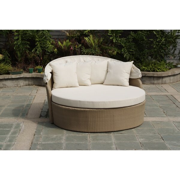 Woolery Canopy Daybed with Cushions by Gracie Oaks
