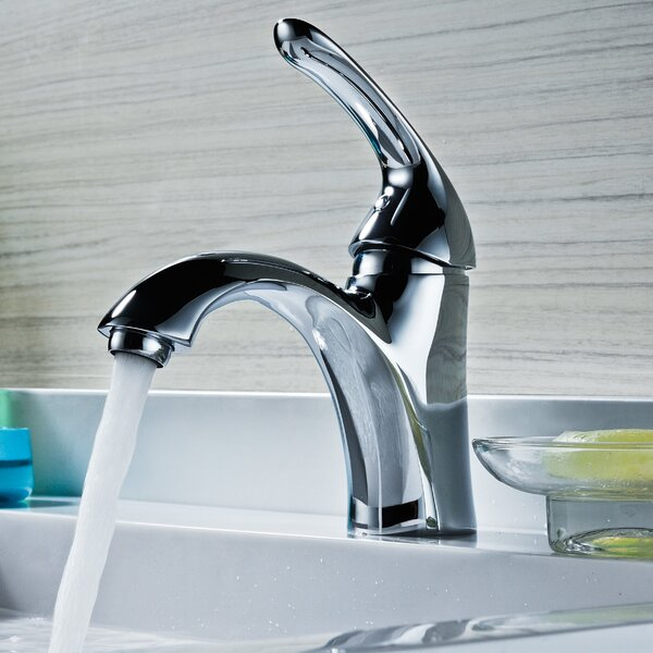 Clavier Single Holes Bathroom Faucet with Drain Assembly by ANZZI