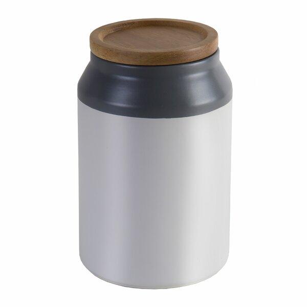 Food Ceramic Storage Jar with Wooden Lid by Jamie Oliver