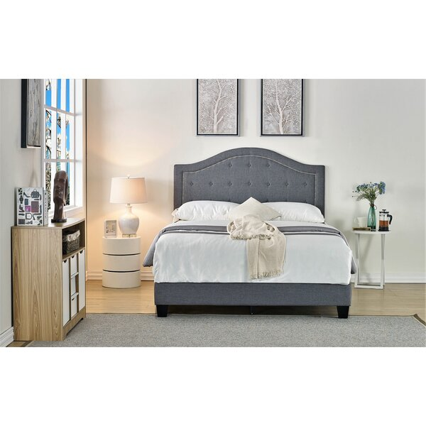 Lightner Upholstered Standard Bed by House of Hampton