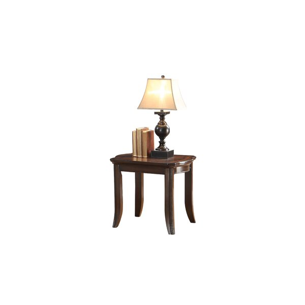 Wheelersburg End Table by Alcott Hill