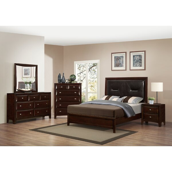 Mateo Platform Configurable Bedroom Set by Roundhill Furniture