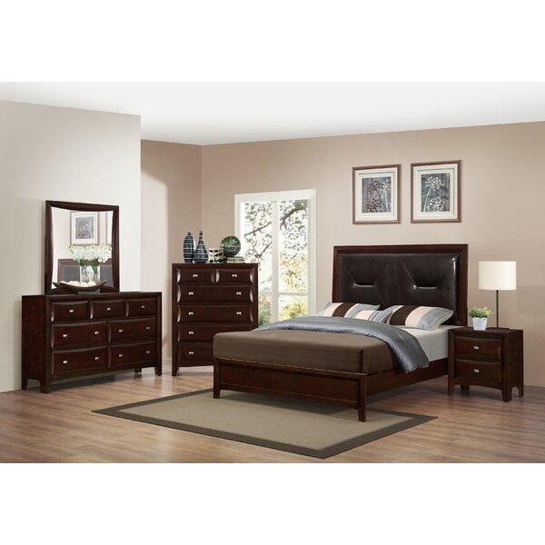 Mateo Platform Configurable Bedroom Set by Roundhill Furniture