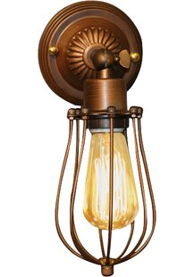 Inexpensive Frances 1-Light Wall Sconce By Warehouse of Tiffany