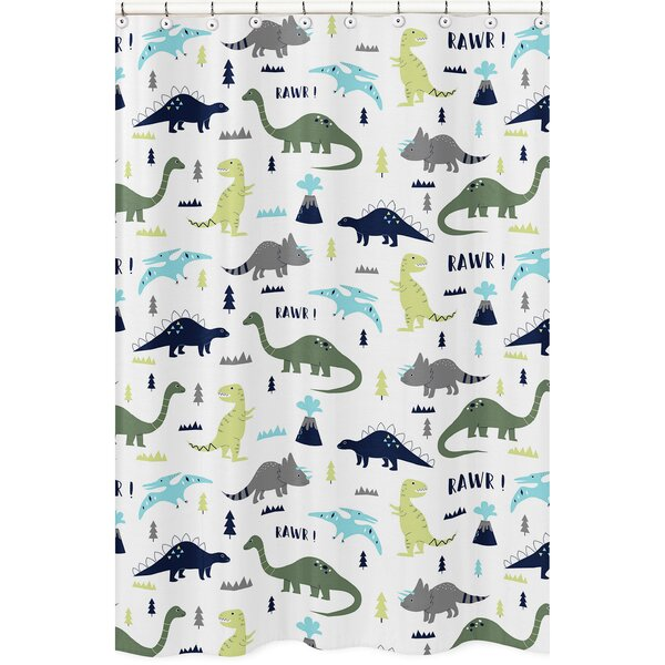 Mod Dinosaur Shower Curtain by Sweet Jojo Designs