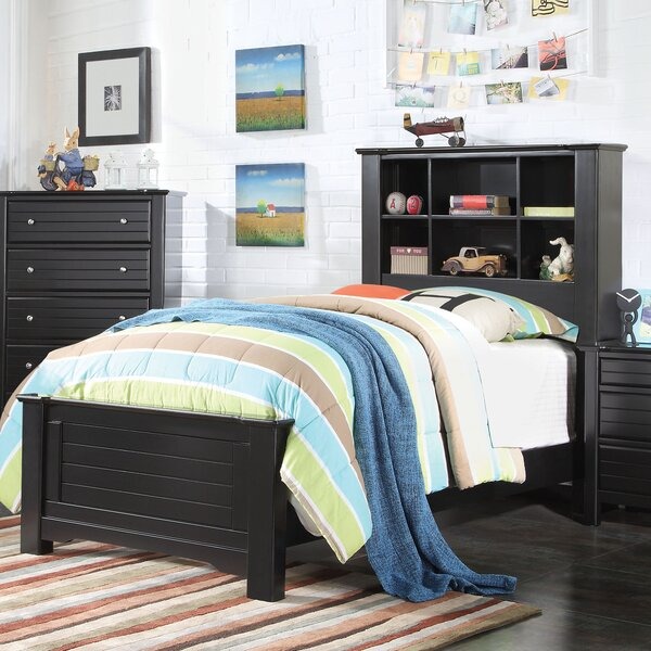 Saylor Platform Bed with Bookcase by Harriet Bee