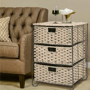 Read Reviews Kesgrave 3 Drawer Storage Chest ByHighland Dunes