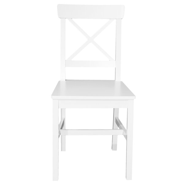 Joanna 2 Piece Solid Wood Dinner Chair (Set of 2) by Red Barrel Studio