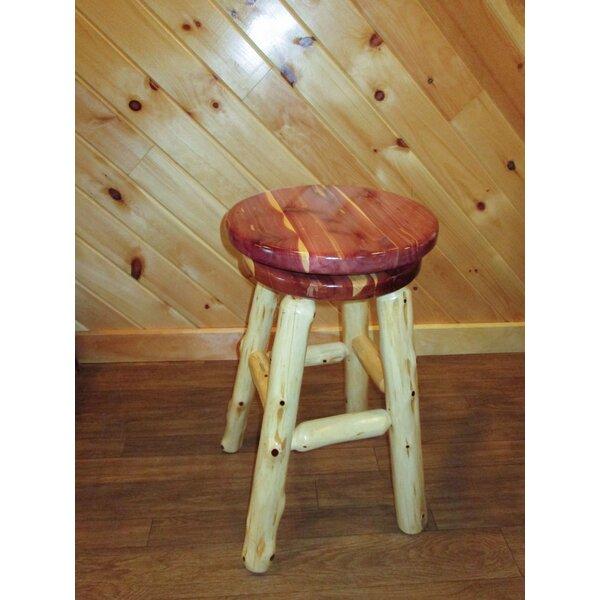 Retta Bar & Counter Swivel Stool by Millwood Pines Millwood Pines
