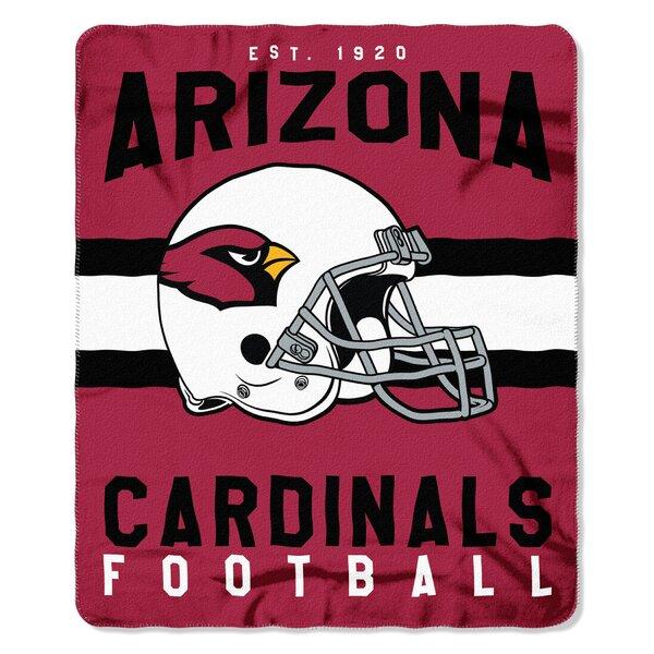 NFL Arizona Cardinals Printed Fleece Throw by Northwest