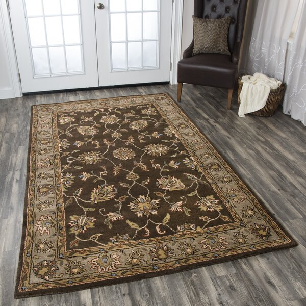 Riley Mocha Rug by Birch Lane™