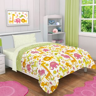 rumble jungle 4 piece toddler bedding set - Toddler Girl Bedding
