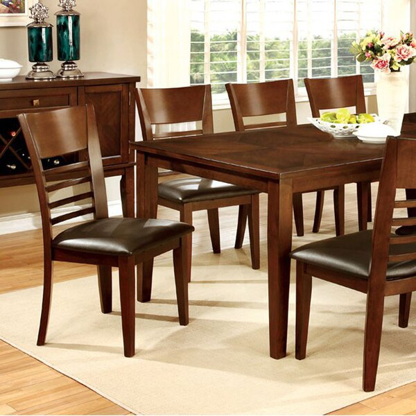 Bargain Kronos Transitional Solid Wood Dining Table By Alcott Hill Savings
