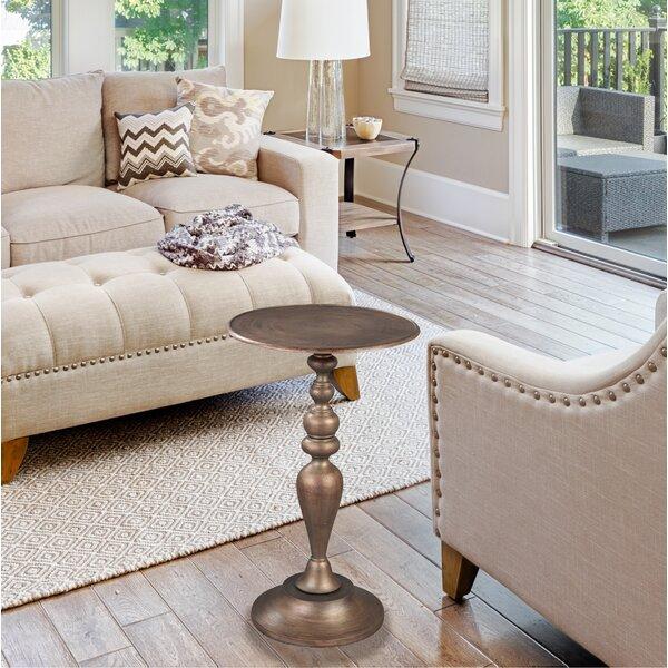 Cinderford End Table by Fleur De Lis Living
